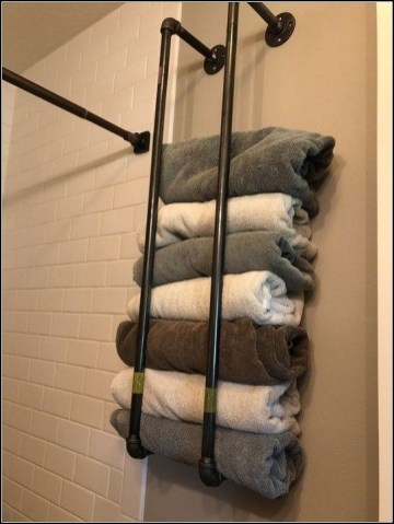 Stunning Diy Pipe Shelves Design Ideas That Looks Awesome06