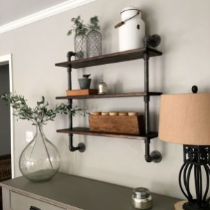 Stunning Diy Pipe Shelves Design Ideas That Looks Awesome11