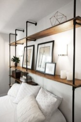 Stunning Diy Pipe Shelves Design Ideas That Looks Awesome13