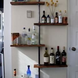 Stunning Diy Pipe Shelves Design Ideas That Looks Awesome20