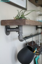 Stunning Diy Pipe Shelves Design Ideas That Looks Awesome21