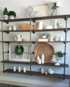Stunning Diy Pipe Shelves Design Ideas That Looks Awesome33