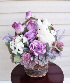 Stylish Easter Flower Arrangement Ideas That You Will Love14