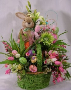 Stylish Easter Flower Arrangement Ideas That You Will Love38