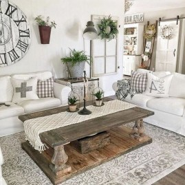 Top Farmhouse Style Living Room Decor Ideas That Looks Adorable02
