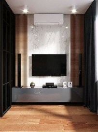 Unordinary Entertainment Centers Design Ideas You Must Try In Your Home07