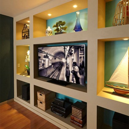 Unordinary Entertainment Centers Design Ideas You Must Try In Your Home25