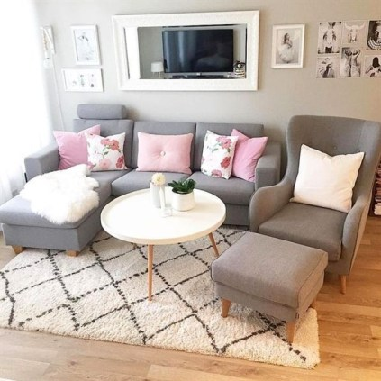 Wonderful Small Living Room Decoration Ideas To Try Asap26