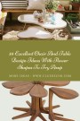 35 Excellent Chair And Table Design Ideas With Flower Shapes To Try Asap