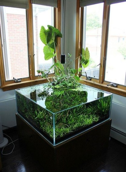 Awesome Indoor Water Garden Design Ideas That Refresh Your Interiors09