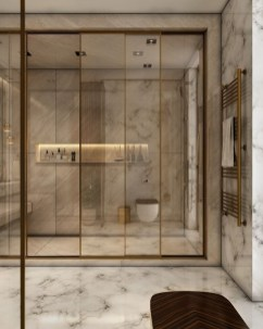 Casual Master Bathrooms Design Ideas That Connected To Nature14