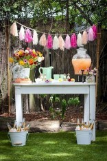 Chic Outdoor Wedding Drink Station And Bar Ideas For Winter To Try Asap02
