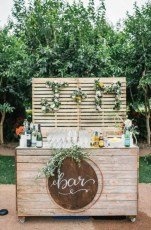 Chic Outdoor Wedding Drink Station And Bar Ideas For Winter To Try Asap11