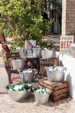 Chic Outdoor Wedding Drink Station And Bar Ideas For Winter To Try Asap14
