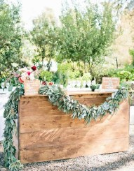 Chic Outdoor Wedding Drink Station And Bar Ideas For Winter To Try Asap23