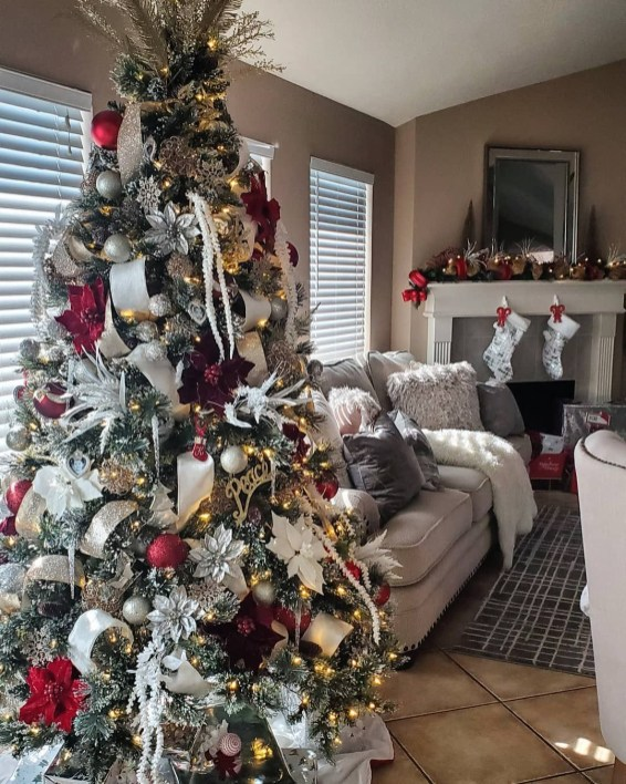 Delicate Multiple Winter Tree Design Ideas To Try Asap29