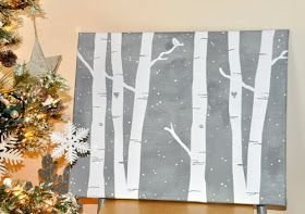 Enchanting Diy Winter Wall Art Ideas To Try Asap22
