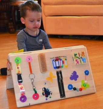 Exciting Diy Busy Boards Ideas For Toddler Learning That You Need To Try06