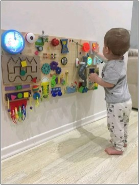 Exciting Diy Busy Boards Ideas For Toddler Learning That You Need To Try07