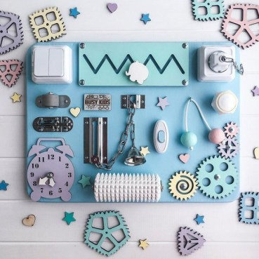 Exciting Diy Busy Boards Ideas For Toddler Learning That You Need To Try28