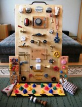 Exciting Diy Busy Boards Ideas For Toddler Learning That You Need To Try29
