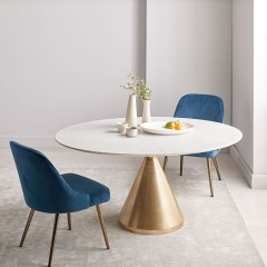 Fancy Round Dining Table Design Ideas That Looks So Awesome05