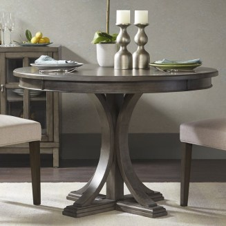 Fancy Round Dining Table Design Ideas That Looks So Awesome16