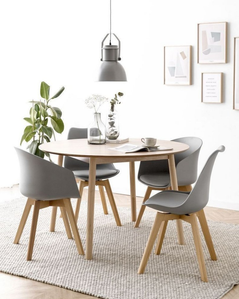 Fancy Round Dining Table Design Ideas That Looks So Awesome29