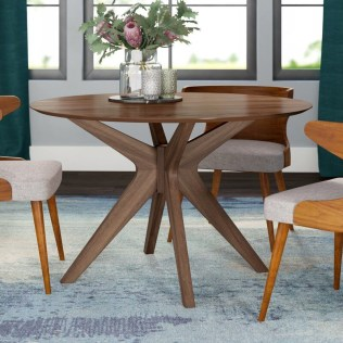 Fancy Round Dining Table Design Ideas That Looks So Awesome33
