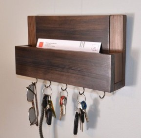 Fantastic Wall Key Holders Design Ideas That Looks So Amazing17