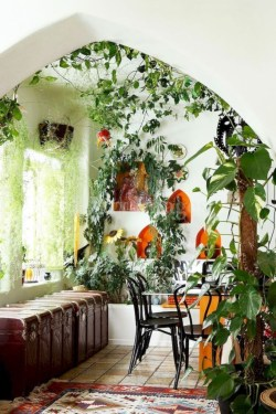 Lovely Indoor Jungle Decor Ideas To Try Asap26