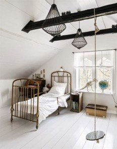 Luxury Indoor Swing Design Ideas For Kids Space To Have Right Now09