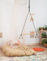 Luxury Indoor Swing Design Ideas For Kids Space To Have Right Now14