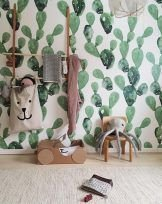 Perfect Cactus Trends Design Ideas For Kids Room To Have30