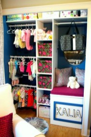 Splendid Baby Closet Organizer Design Ideas That Without Closet To Try05