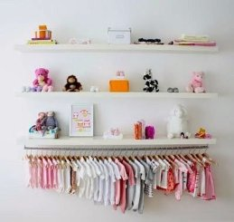 Splendid Baby Closet Organizer Design Ideas That Without Closet To Try11