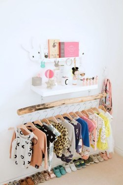 Splendid Baby Closet Organizer Design Ideas That Without Closet To Try24