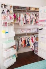 Splendid Baby Closet Organizer Design Ideas That Without Closet To Try29