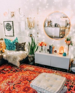 Captivating Bohemian Interior Design Ideas That Suitable For Your Apartment15