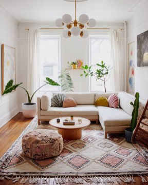 Captivating Bohemian Interior Design Ideas That Suitable For Your Apartment18