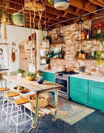 Captivating Bohemian Interior Design Ideas That Suitable For Your Apartment28