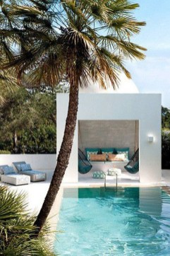 Extraordinary Poolside Nooks Design Ideas To Try For Your Relaxing11