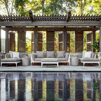 Extraordinary Poolside Nooks Design Ideas To Try For Your Relaxing26