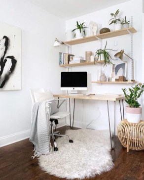 Fascinating Home Office Design Ideas With Beautiful Plants To Try Asap09