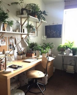 Fascinating Home Office Design Ideas With Beautiful Plants To Try Asap13