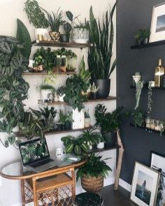 Fascinating Home Office Design Ideas With Beautiful Plants To Try Asap21