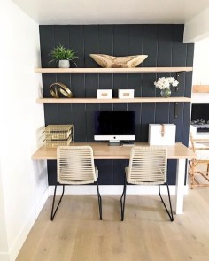 Fascinating Home Office Design Ideas With Beautiful Plants To Try Asap22