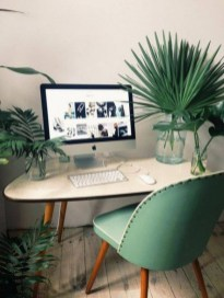 Fascinating Home Office Design Ideas With Beautiful Plants To Try Asap30
