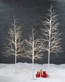 Favorite Winter Tree Display Design Ideas For Small Spaces25