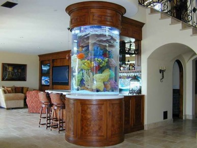 Glamorous Aquariums Design Ideas For Cool Interior Styles To Have03
